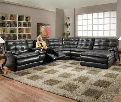 southern motion sectional sofa comfortscapes reclining sectional sofa by southern motion