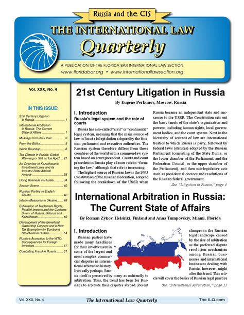 business law section of the florida bar russia and the cis 062013 by international law section issuu