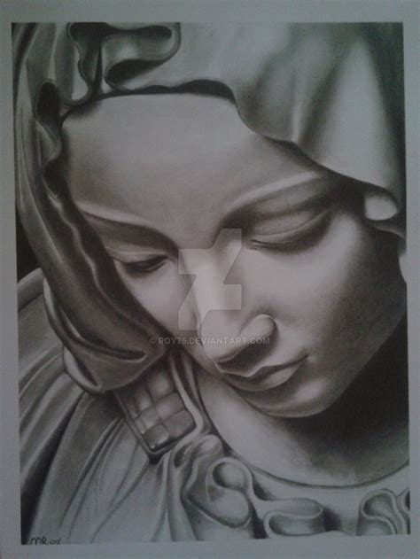 virgin mary by roy75 on deviantart