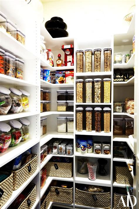 Bedroom Storage Ideas Khlo 233 Kardashian Has The World S Most Organised Pantry