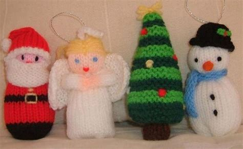 knitting christmas free decoration knitting patterns uk