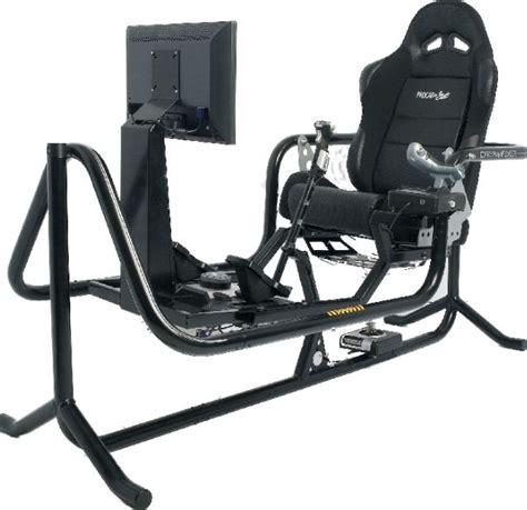 Flight Sim Chair by True Simulator In No Limits Coaster