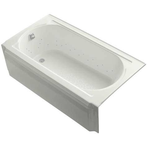 kohler memoirs bathtub kohler memoirs 5 ft air bath tub in dune k 723 gcp ny