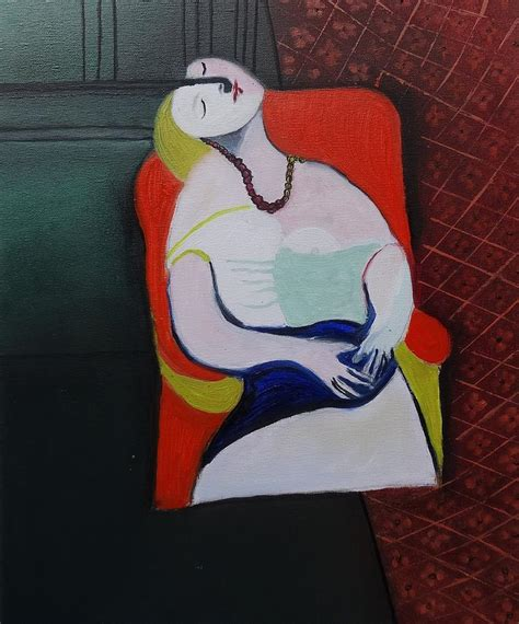 picasso paintings le reve my picasso le reve painting