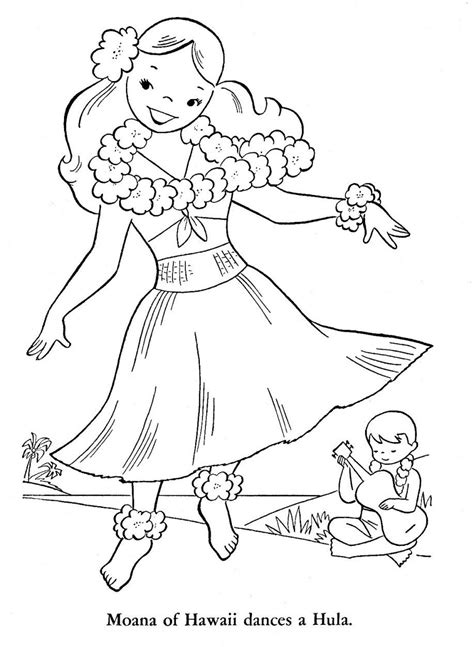hawaiian coloring pages luau free coloring pages coloring home