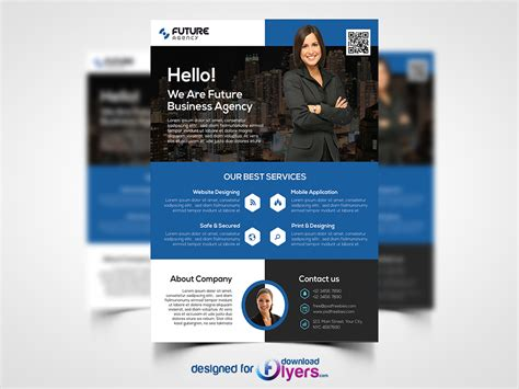 corporate flyer psd template flyer psd