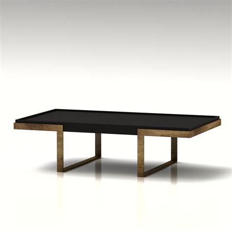 3d west elm coffee table high quality 3d models