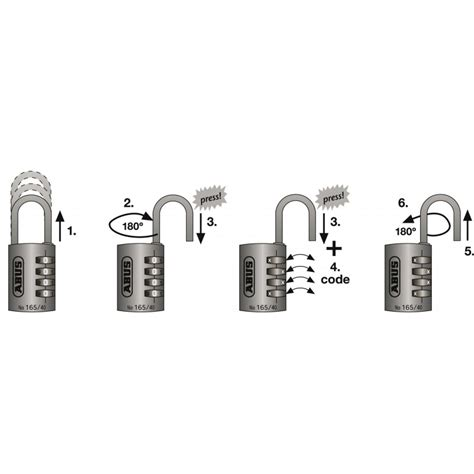 cadenas abus 165 30 changer code cadenas laiton 224 combinaison interchangeable s 233 rie 165
