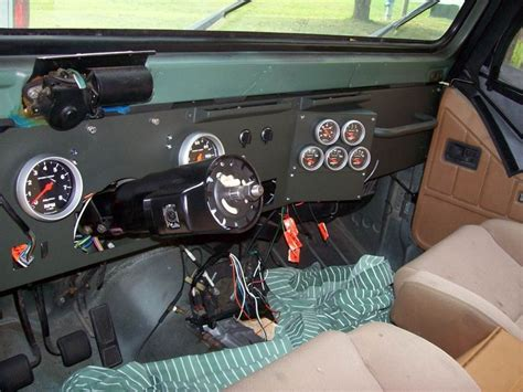 Jeep Yj Dash Jeep Yj Dash Conversion Custom Dash Jeep Things