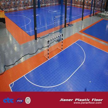 Interlock Floring Futsal plastic portable futsal court pp flooring interlocking