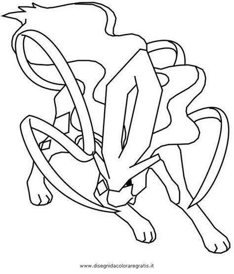 pokemon coloring pages raikou suicune coloring pages coloring home