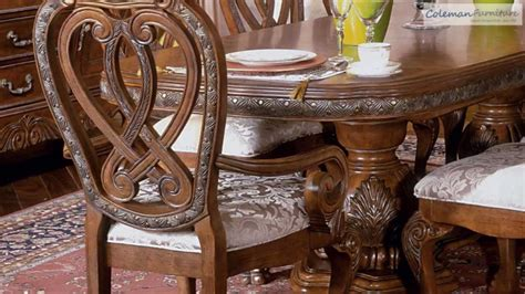 aico dining room furniture villa valencia dining set by aico aico dining room