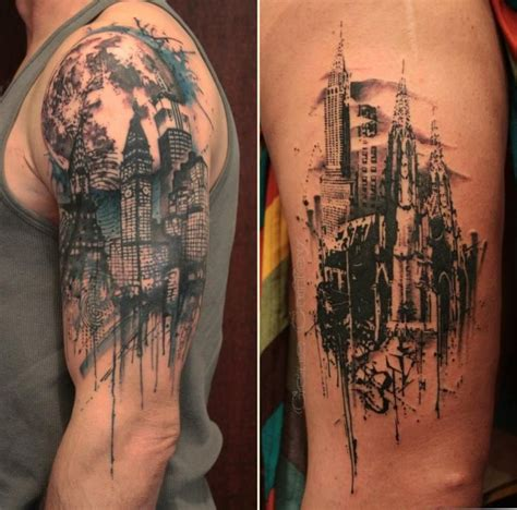 city tattoo designs 35 of the best architecture tattoos or how to your