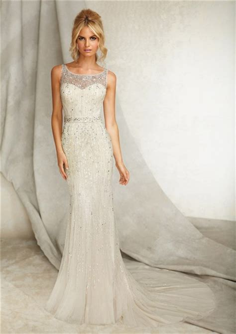 the irresistible exquisiteness of beaded wedding dresses