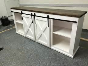 barn door tv stand plans 17 best ideas about white tv stands on white