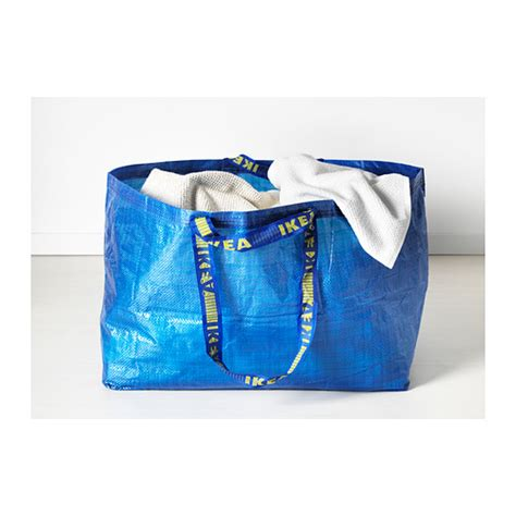 ikea shopping bags 2 pack new ikea frakta large blue reusable shopping bag