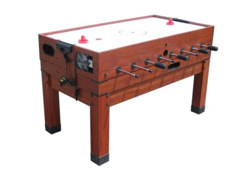 air hockey and foosball combination table 13 in 1 combination table in cherry the danbury