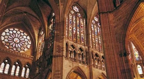 imagenes vidrieras goticas catedrales g 243 ticas de castilla y le 243 n en espa 241 a es cultura
