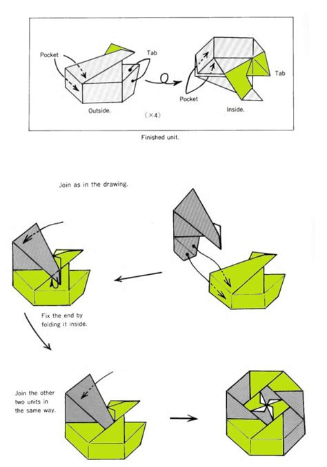 How To Make A Paper Octagon - octagonal box origami