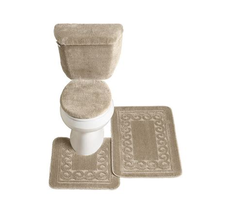 5 piece bathroom rug set brand new scroll 5 piece bath rug set mankato super