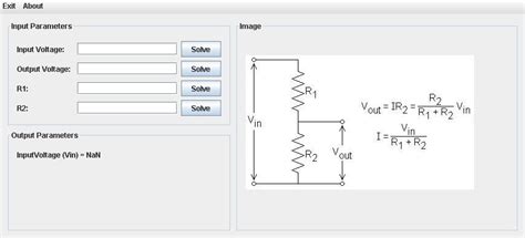 resistor divider calculator resistor divider calculator 28 images voltage divider calculator downloads calculators