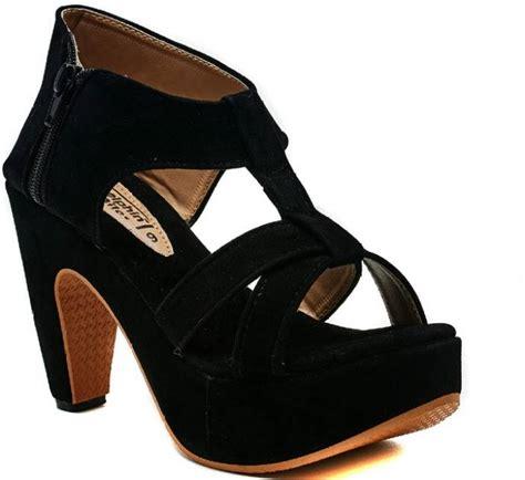 High Heels Original Blackkelly 133 dolphin black heels buy black color dolphin black heels at best
