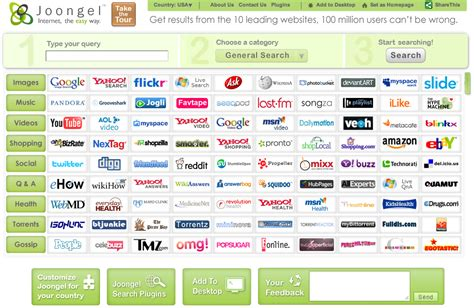 best search engine after unified interface for separate search engines to