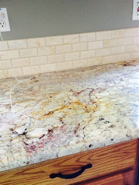 granite color to avoid the builder grade look