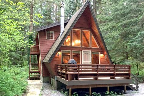 House Plans Open Floor Plan One Story unique a frame cabin rental near vancouver