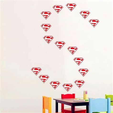 superman wall sticker superman wall stickers promotion shop for promotional