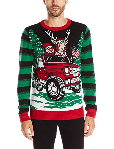 ugly christmas sweater men s this is how we roll light up