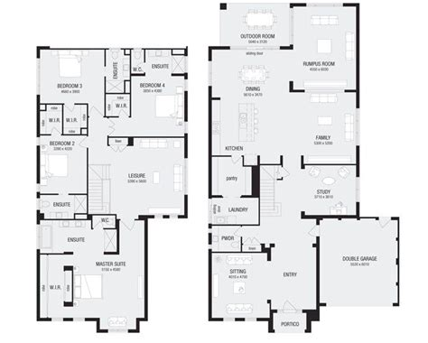 metricon floor plans nolan 50 new home floor plans interactive house plans