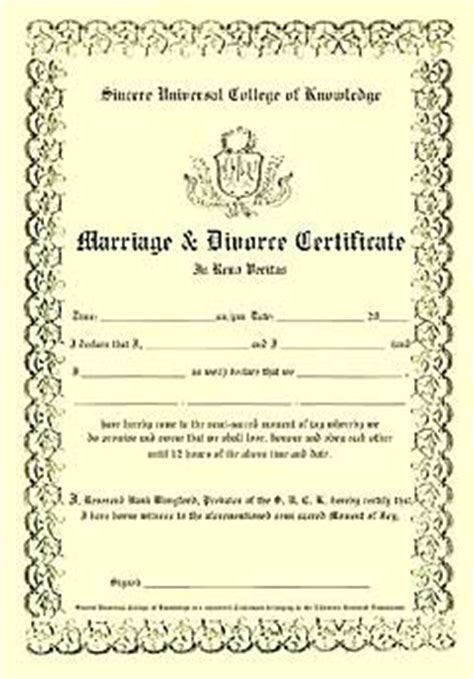 Divorce Records In Uk Image Gallery Divorce Certificate