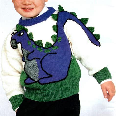 knitting pattern dinosaur jumper dinosaur knitting pattern horse cat bunnies bears dogs