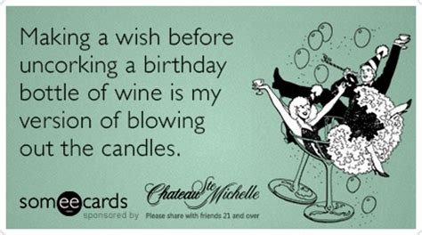 Birthday Wine Meme - my chateau ecards free my chateau cards funny my chateau