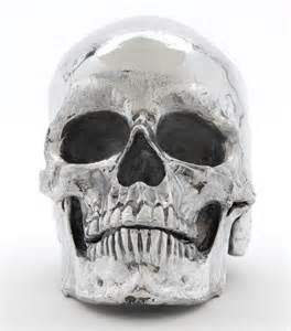 Technology Office Decor mca chicago store metal skull