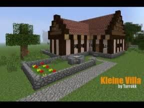 kleines minecraft haus minecraft kleine villa einrichtung tutorial