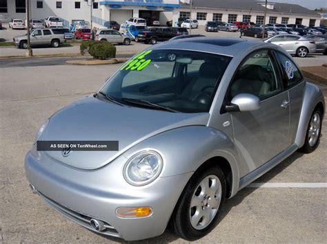 volkswagen beetle diesel 2002 volkswagen beetle gls tdi diesel blue ox rv motorhome