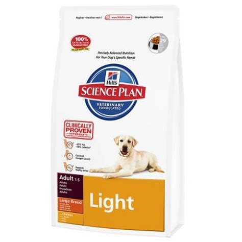 hill s science diet large breed light hill s science plan light large breed chicken