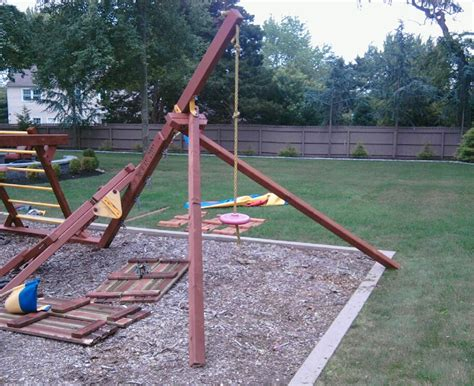 used commercial swing set old playground slides for sale new big 9 kid cedar wood