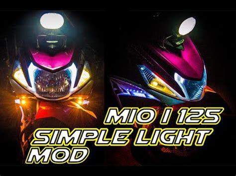 Lu Led Mio M3 mio i 125 m3 simple led light package advance works