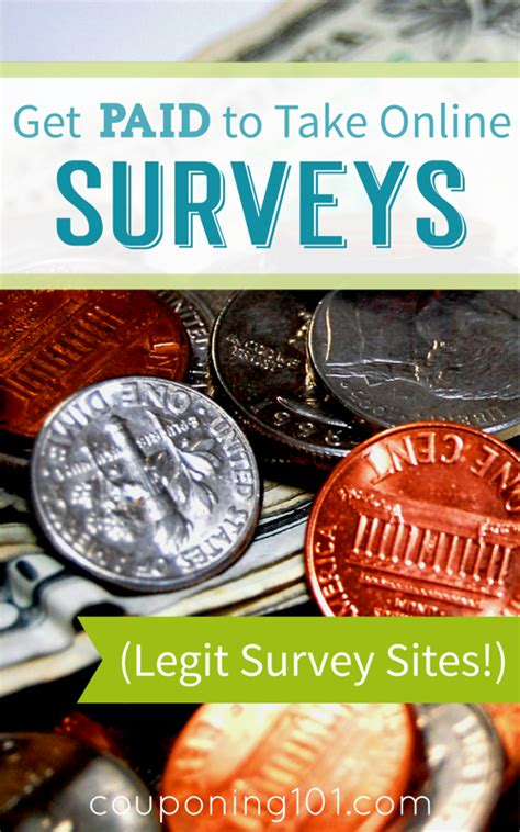 Get Paid To Take Surveys Online Legit - get paid to take online surveys couponing 101