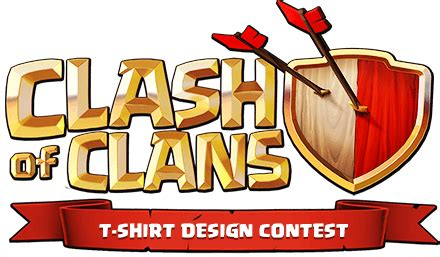 t shirt logo design contest clash of clans t shirt design contest
