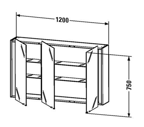 duravit ketho 1200mm 3 door mirror cabinet kt753301818 duravit ketho 1200mm 3 door mirror cabinet kt753301818