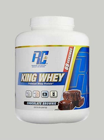 Whey Protein Rc King Whey 5 Lbs By Ronnie Coleman Signature Series neulife store ronnie coleman king whey vanilla 5 lbs neulife