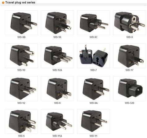 Universal Travel Adapter Usb Colokan Krisbow Connector universal travel two way radio adapter multi use wall