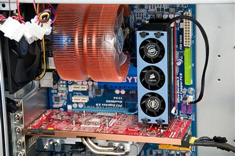 Ram Komputer Cpu pc build ud3r cpu heatsink corsair ram fan ati 4870 flickr