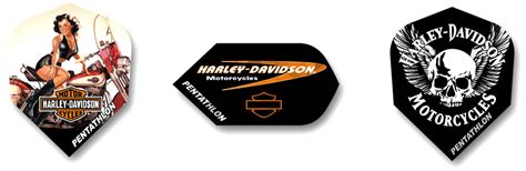 Harley Davidson Hd 6308 Silver harley davidson darts flights