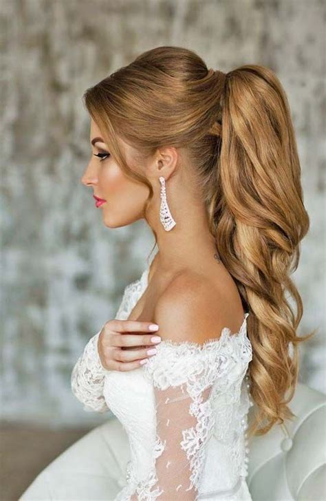 Long wedding hairstyle 2017   Latest Hairstyle   Tail