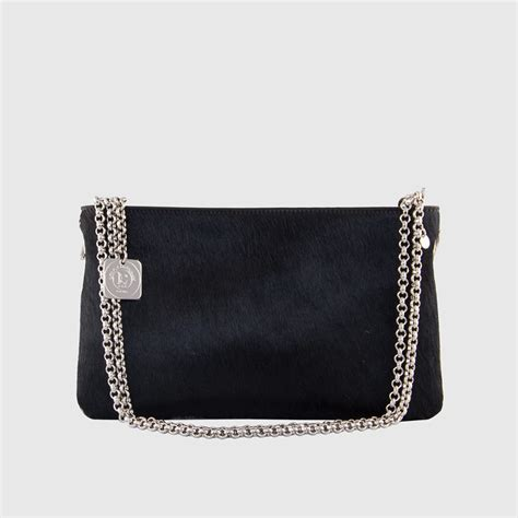 Tas Clutch Zara Ori leather clutch with removable handle chatenay